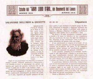 """Estratto dal """"Gran Libro d'Oro"""" 1914"""